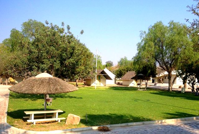 Buitepos accommodation: camping
