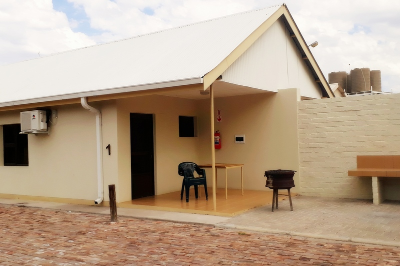 Buitepos accommodation Namibia: 2-Bed Bungalow